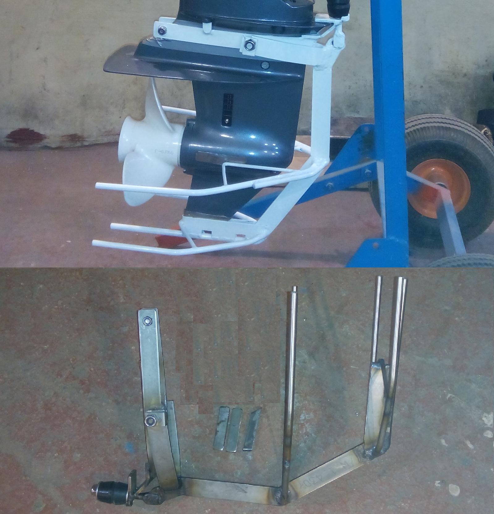 защита винта лодочного мотора чертеж
